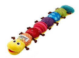 Wholesale Baby Toys Educational Lamaze - New 2014 Baby toy lamaze rattles caterpillar toys musical brinquedos plush educational toys