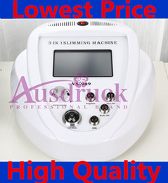 Machine Cellulite Slim Canada - 2015 new Vacuum Radio Frequency Cellulite red photon Ultrasonic Cavitation RF Slimming machine face lifting wrinkle removal beauty equipment