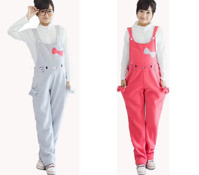 2018 2015 Winter Plus Size Maternity Clothing Pants Jumpsuits And