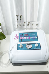 Wholesale Double Pump - 2015 new desktop Double Pump Diamond Microdermabrasion Dermabrasion Peeling machine Portable Skin Care device