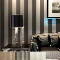 Modern Black Wallpaper Striped Purple And Silver Glitter Wal...