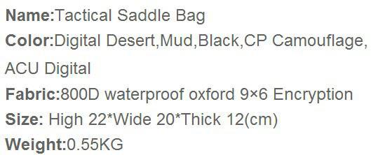 2014 Viagem de exército de acampamento de chegada nova sacos táticos? Câmera saco 800D impermeável Oxford pano ao ar livre lazer ombro mochila A257X