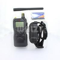 Wholesale Vibrating Harness - Wholesale-100 level Shock Vibrate Remote Dog Pet Training Collar 1000m
