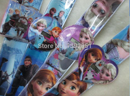Wholesale Cartoon Slap Watches For Kids - Cartoon slap watch Cartoon Elsa and Anna Children Boys Kids Digital Watch Bracelet Wristwatches Wrist Watches Gift for girl 20pc