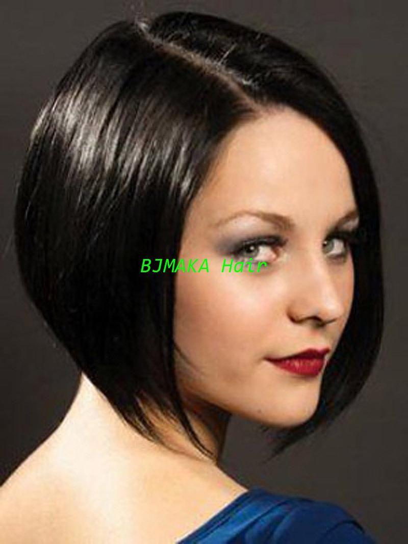 Short Bob Wigs Black Straight Cute Full Lace Wigs   Lace Front Wigs ... c4a0f6fae