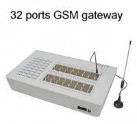 Wholesale Gsm Channels - GOIP32,GSM VoIP Gateway 32 Channels, 32 SIM Cards, GSM Gateway,Builk SMS,Routes,GOIP Gateway,DHL Free Shipping
