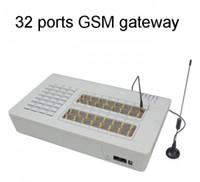 Wholesale Gateway Gsm Sim Card - GOIP32,GSM VoIP Gateway 32 Channels, 32 SIM Cards, GSM Gateway,Builk SMS,Routes,GOIP Gateway,DHL Free Shipping