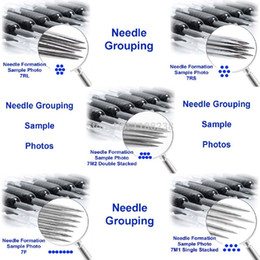 """Wholesale Grip Needle Rs - Wholesale-40PCS TATTOO NEEDLE Tube 3 4""""(19mm) GRIP with Tip Sterilize Assorted 3 5 7 9 RL 3 5 7 9 RS 5 7 M1 Gun Machine FREE SHIPPING"""