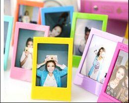 Cadre photo multicolore 10pcs pour Fujifilm Polaroid Instax Mini8 / 7S / 25s / 50s / 90 en Solde