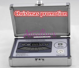 Wholesale Analysis Software - New Arrival!!! Spanish Language Software Quantum Resonance Magnetic Analyzer Sub-Health Analysis Body Scanner With 39 Reports