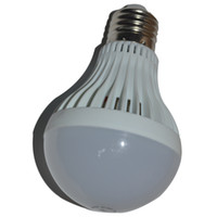 ingrosso lampadine a base di globo-Luce a led a buon mercato buona luce 5W LED Globe Lampadina 3W 7W9W E27 Led Lampadine a LED Lampada a sfera Illuminazione di plastica LED Lampadina Spedizione gratuita