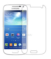 Wholesale S4 Mini Protection - Ultra Clear Front Screen Protector Case Guard For SAMSUNG Galaxy S4 mini i9190 Protection with Cleaning Cloth Retail Package