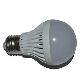 Wholesale Plastic Spotlights - Hot Sale E27 Led Light Bulb 3W 5W 7W 9W Led Plastic Bulb Lamp AC85-265V Indoor Energy-saving Lamp cool white Warm white Spotlight