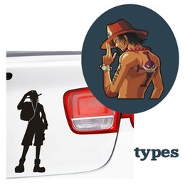 Wholesale Pirate Decal Stickers - Car sticker vinyl car decals Pirates applique car motorcycle waterproof reflective stickers+free shipping