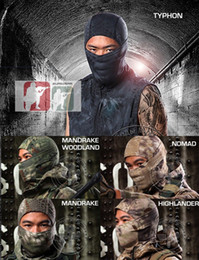 Wholesale Face Hoods - Outdoor Ski Quick-drying Hood Balaclava Ninja Head full Face Mask Headwear Tube Waterproof Windproof Neck Scarf for Hunting