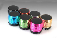 Wholesale s4 hand - S30 MINI Wireless Bluetooth Speaker - Portable Heavy Bass Cannon Stereo Hand-free w  TF Card Slot for Samsung S3 S4 S5 Note3 iPhone 6 5s
