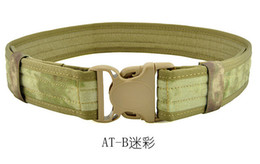 Chinese  2 inch 1000D Cordura fabric Nylon Strengthening Canvas Waistband Tactical Pistol Duty CQB Rigger Mirage Belt US for Gun manufacturers