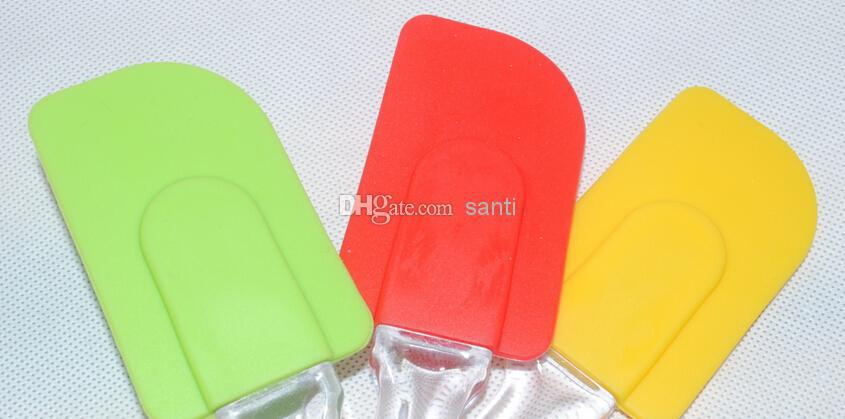 Baking tools Kitchen cake knife Butter knife environmental protection silicone butter spreader