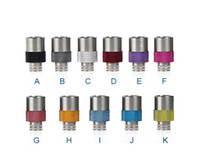 Wholesale Clearomizer Fashion - Fashion Style 510 Wide Bore Drip Tip Chaplin Antislip Drip Tips EGO Atomizer Mouthpieces for CE4 Evod spinner 2 mechanical mod Clearomizer