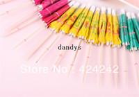 Wholesale Luau Party Umbrellas - 25Pcs Paper Cocktail Parasols Umbrellas Party Wedding Supplies Luau Drink Stick #45249, dandys