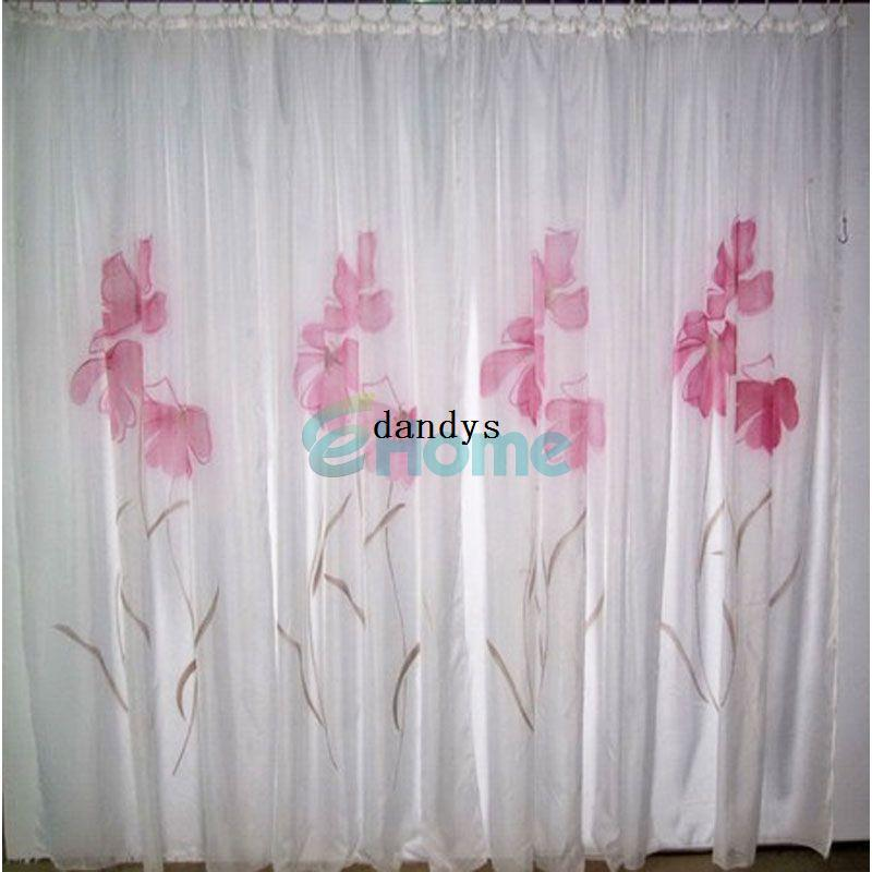 150 X225cm Fashion Home Decor Curtain Handmade Inkjet Flower Window Screen Sheer56681 Dandys Paisley Curtains Door From