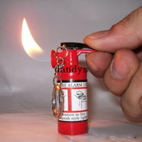 Wholesale Extinguisher Fire - 5 X Refillable Fire Extinguisher Shape Butane Gas Lighter#3200, dandys