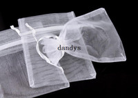 Wholesale Organza Bags X 12 - New 1 Pack 50PCS Organza Jewelry Wedding Gift Bags Favor Pouches 12 X 9cm Decor[9325|01|01], dandys