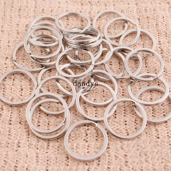 New 25Pcs Split Keyring 25mm Schlüsselring Kette Loop Pocket Foto Verschlüsse Steckverbinder [23285 | 01 | 01], dandys
