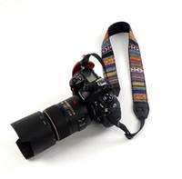 dslr askı kayışları toptan satış-Yeni DSLR Kamera Omuz Boyun Sapan Askısı Kemer Canon Nikon Sony Fuji # 30407 için, dandys