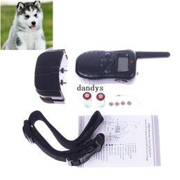 Wholesale Product Levels - Hot Sale 100 Level Pet Dog LCD Shock Vibration Remote Control Training Bark Stop Collar#55203, dandys