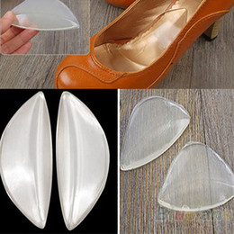 Wholesale Silicone Wedge - Silicone Gel Arch Support Shoe Inserts Foot Insole Wedge Cushion Pads Pain 0RKV