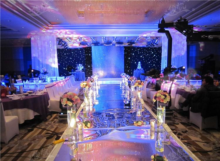 10mroll luxury wedding centerpieces gold silver double side aisle 10mroll luxury wedding centerpieces gold silver double side aisle runner mirror carpets for wedding t station decorations supplies indian wedding decor junglespirit Choice Image