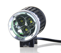 Wholesale Cheap Led Head Lights - T6 3xCREE XML XM-L LED Bicycle Bike Head Light Camping Fishing Light 3800LM Lamp 1x8.4v Battery Pack sets Waterproof Cycling headlamp CHEAP