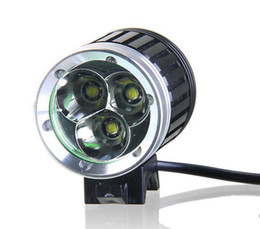 Wholesale Cheap Wholesale Bikes - T6 3xCREE XML XM-L LED Bicycle Bike Head Light Camping Fishing Light 3800LM Lamp 1x8.4v Battery Pack sets Waterproof Cycling headlamp CHEAP