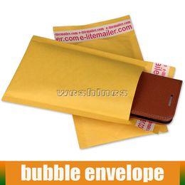 Wholesale Cheap Wholesale Envelopes - Cheap 90*130mm ,180*250mm, 210*280mm Kraft Bubble Mailers Padded Mailing Envelope Bag Bubble Envelope Bag For E Cig Panzer King Mod Packing