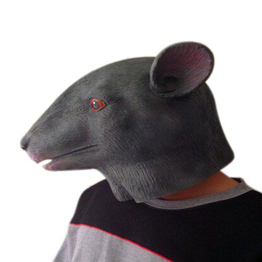 Mouse Mask Deluxe Latex Animal Mask Party Cospaly Halloween Costume Mask Theater Prop Novelty New Style