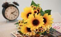 gerbera sonnenblume großhandel-Gefälschte Sonnenblume 27 cm / 10,63