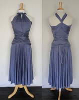 Wholesale Infinity Bridesmaid Dress - Amazing Lavender Tea Length Short Bridesmaid Dresses Jesery unlimited Convertible Infinity Dresses 2015 Custom Made Plus Size Party Dress