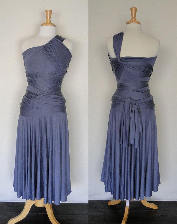 Niesamowita Lawenda Długość Herbaty Krótkie Druhna Dresses Jesery Unlimited Cabrio Infinity Dresses 2015 Custom Made Plus Size Party Dress