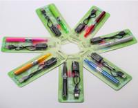 ego t ecigarette starter kit großhandel-E cig h2 dual elektronische zigarette starter kits ego-t ego-t gs-h2 e zigarette e cig kit zigaretten ecigarette cigs ecig