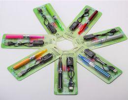 Wholesale Ego Ecigarette Starter Kit - E cig h2 dual electronic cigarette starter kits ego-t ego t gs-h2 e cigarette e cig kit cigarettes ecigarette cigs ecig
