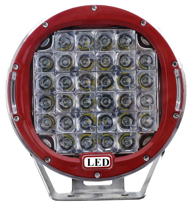 9 Inch 96w Round Cree Led Work Light 12v 24v Flood Spot