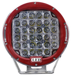 9 inch 96W Round CREE LED Work Light 12V 24V Flood Spot Bright Offroad Driving CAR TRUACK BOAT SUV 4WD SPOTLIGHT