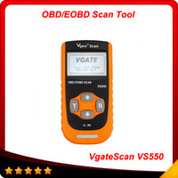 Wholesale Odb Ii Scanner - 2014 Hot VS550 VgateScan Automotive OBD II OBD2 OBDII ODB Diagnostic Code Reader Scanner Scan tool VS 550 Free shipping