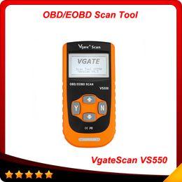 Wholesale Vs Code Reader - 2014 Hot VS550 VgateScan Automotive OBD II OBD2 OBDII ODB Diagnostic Code Reader Scanner Scan tool VS 550 Free shipping