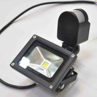 Wholesale Pir Led Floodlight New - New Arrival 10W 20W 30W 50W 70W waterproof IP65 PIR Motion sensor led Floodlight flood light