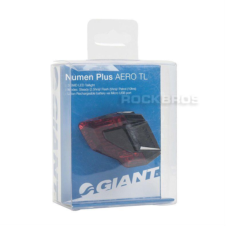 GIANT NUMEN PLUS AERO TAILLIGHT 3 LED USB