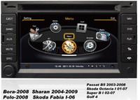 Wholesale Gps Navigation Vw Bora - OEM for VW Bora Polo, Sharan, Passat, Golf4 Car DVD Player GPS Navigation wifi 3G bluetooth radio, TV, USB SD Plug & Play Installation