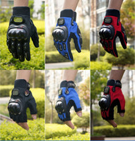 taichi yarış eldivenleri toptan satış-CN uzman PRO-BIKER tam parmak şövalye motokros motosiklet eldiven elektrikli bisiklet eldiven M L XL XXL