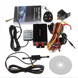 Wholesale Vehicles Mercedes - TK103B Car GPS Tracker With Remote Control GPS GSM GPRS GLOBAL Track For Vehicle